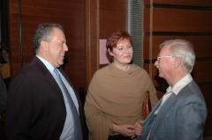 Professor Haim Harrari, Unknown Woman and Henry Fenichel