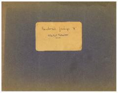 Cantoral Chants Volume III, Manfred Rabenstein
