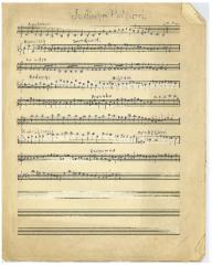 "Sheet Music in the German Minhag: ""Judisches Potpurri"""