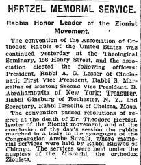 Agudas HaRabbonim convention 1904