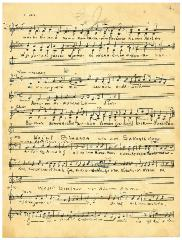 "Sheet Music in the German Minhag: ""Waihi Binssoa wie am Sabbath dann"""