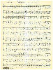 Sheet Music for Finishing Kaddish for High Holidays in the German Minhag