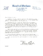 New Hope Congregation - Polling Place Contract - 1985