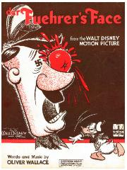"Sheet Music from the Walt Disney Motion Picture, ""der Fuehrer's Face"""