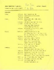 Jewish Federation of Cincinnati - Meeting Forecast - 1986-87