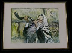 """השופר"" (The Shofar), by Martha Moore"