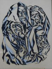 Portrait of Four Men by Marcus