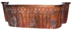 Bench Railing from the Beth Tefillah Synagogue, Cincinnati, Ohio