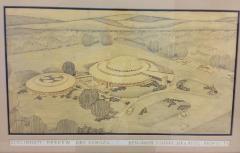 Cincinnati Hebrew Day School Architectural Plans for Dawn Road Building as Drawn by Bejamin Domar, Architect