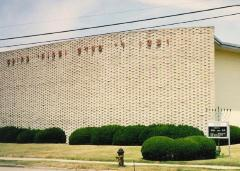 Photographs of the Exterior of the Congregation Ohav Sholom (Section Road Location), Cincinnati, Ohio