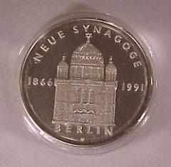 The Oranienburger Strasse Synagogue Medal