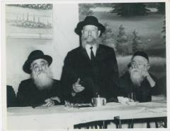 Rabbi Eliezer Silver Speaking at Agudath Israel of America National Convention