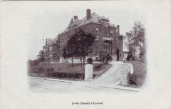 Postcard Depiction of the Jewish Hospital of Cincinnati 1900