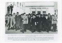 Rabbi Eliezer Silver and 400 Rabbis March to Washington in 1943 to press the United States government to do more to save European Jews