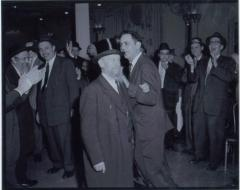 Rabbi Eliezer Silver Dancing at an Unidentified Wedding
