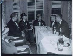 Rabbi Eliezer Silver Seated at an Unidentified Wedding
