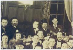 Rabbi Eliezer Silver at an Unidentified Wedding