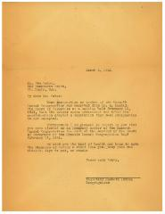 Letter to Sam Schur Informing him of his Election as Lifetime Honorary Member of Kneseth Israel Congregation (Cincinnati, Ohio)
