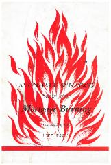 Avondale (Adath Israel) Synagogue (Cincinnati, Ohio) Mortgage Burning Booklet from 1945