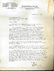 Letter from Senator Robert Taft to Mrs. Nathan Silver in 1972 Regarding the Jewish Women of Cincinnati's Efforts to Free Soviet Jews