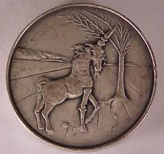 Tribe of Joseph - Salvador Dali 1973 25th Anniversary of Israel Silver Medal