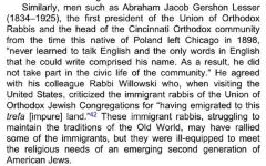 Story of Rabbi Avrahom Gershon Lesser from Judaism in America