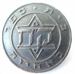 Silver Hadassah Nursing Badge