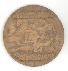 Medal Issued to Commemorate the Warsaw Ghetto Uprising