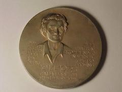 Medal Issued to Commemorate Warsaw Ghetto Uprising and Zivia Lubetkin