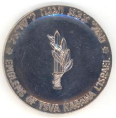 Medal in Honor of the Bar Mitzvah Year (13th) of the Establishment of the Israel Defense Forces - TSVA HAGANA L'ISRAEL, 1961