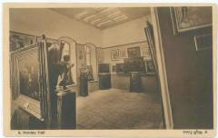 Bezalel Postcard Showing the Sales Room, The Nordau Hall