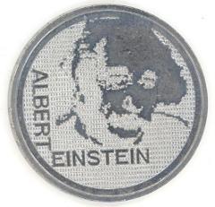 Albert Einstein Swiss 5 Franks Coin