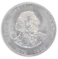 Albert Einstein Scientist Coin