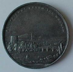 Benjamin Disraeli - Earl of Beaconsfield Medal