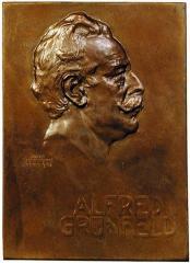 Alfred Grunfeld Plaque