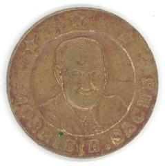 Morris B. Sachs Good Luck Token