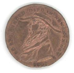 Lord George Gordon Token from England