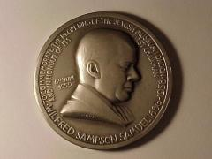 Wilfred Sampson Samuel – Jewish Museum of London Medal
