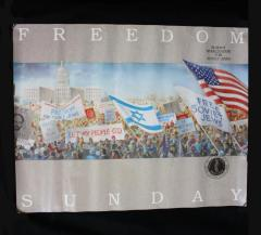 Freedom Sunday - Summit Mobilization for Soviet Jews Poster