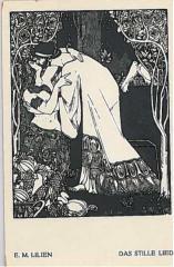 "E. M. Lilien Postcard ""DAS STILLE LIED"" (""The Silent Song"")"