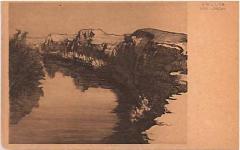 "E. M. Lilien Postcard ""Der Jordan"" (""The Jordan"")"