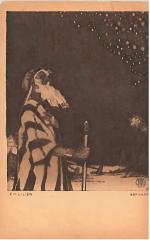 """E. M. Lilien Postcard """"Abraham"""""""