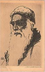 "E. M. Lilien Postcard ""Jude Aus Der Buchara"" (""Jew from Bukhara"")"