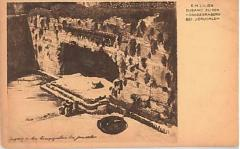 "E. M. Lilien Postcard ""Zugang Zu Den Konigsgraben Bei Jerusalem"" (""Acess to the Royal Graveyard in Jerusalem"")"
