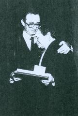 """Rabbi Herman Schaalman and Rabbi Joseph """"Joe"""" Glaser"""