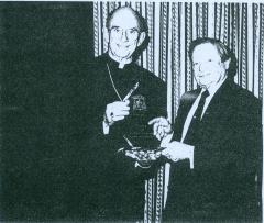 Rabbi Herman Schaalman and Cardinal Bernadin