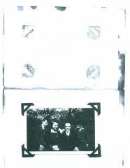 Herman Schaalman with his brother and parents