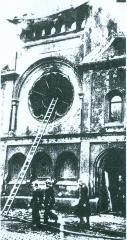 Ohel Yakov in Munich after Kristallnacht