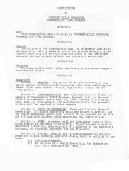Constitution of Northern Hills Synagogue, Congregation  B'nai Avraham 1966 (Cincinnati, OH):