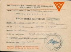 Anna Brünn Ornstein - Identity Document